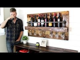 industrial wine rack easy diy project