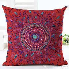 square relaxing cushion pillow covers 11 designs mandala meditation pillow case sofa cushion cover indian bohemian floor pillows cover outdoor furniture