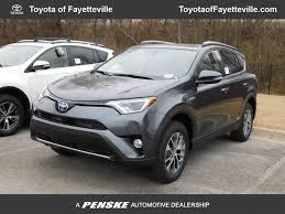 2018 New Toyota RAV4 Hybrid XLE AWD at Toyota of Fayetteville ...