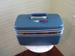 makeup train case vine samsonite train case teal hard case luge with key and mirror