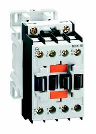 power contactors electrical & automation l&t india 4 Pole Contactor Wiring Diagram mdx 18 dc coil three pole power contactor 4 pole lighting contactor wiring diagram