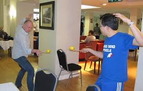 fun things for the office. lemon fencing chooi u0026 matt demonstrate with some style how to play this fun things for the office