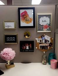Full Size of Interior:decorating Office Ideas Work Cubicle Desk Ideas  Office Decorating Interior On ...