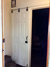 hanging sliding closet doors. DIY Sliding Door.....cheap-o Style That I Did Using Hanging Closet Doors N