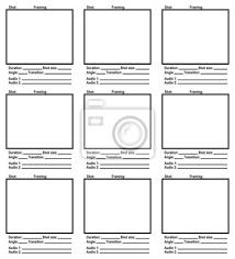Script-Storyboard Fototapete • Fototapeten Storyboard, Grundstück ...