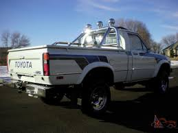 Toyota pickup SR5 4x4 100% rust free garage kept must see