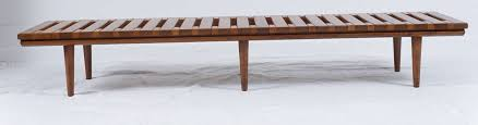 this is a great piece its a wooden slat bench in two tone wood