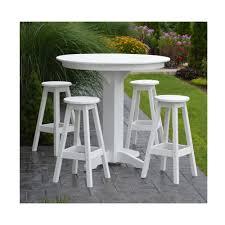 set of 4 bar stools. Amish Made 44\ Set Of 4 Bar Stools
