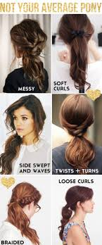Quick Cute Ponytail Hairstyles 59 Easy Ponytail Hairstyles For School Ideas Hairstyle Haircut Today