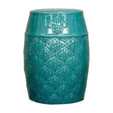 ceramic garden seat. spear ceramic garden stool seat