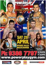 Powerplay Promotions Presents: The Showdown Saturday April 28, 2012   Muay  Thaimes Magazine