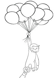Curious George Coloring Pages Fashionadvisorinfo