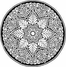 Small Picture Abstract coloring pages floral mandala ColoringStar