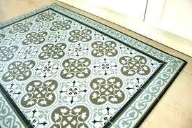 vintage vinyl rugs hand painted vinyl floor mats vintage vinyl area rugs