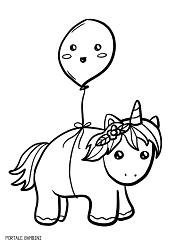 Disegni Kawaii Da Stampare Colorati Unicorni Img