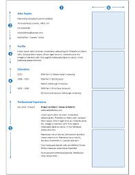 Sample Cv Architecture Design 9b Careers