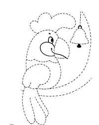 tracing line worksheet for preschoolers (9) Â« funnycrafts