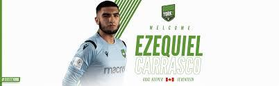 York9 FC Signs Goalkeeper Ezequiel Carrasco – York United FC