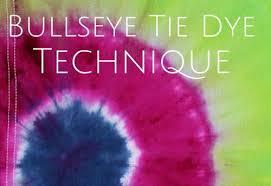 Tulip Fabric Dye Color Chart Bullseye Tie Dye Technique From Tulip Favecrafts Com