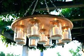 chandeliers en candle chandelier outdoor fancy garden uk