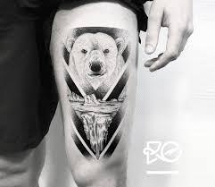 Polar Bear Tattoo By Robert Pavez Tattoo Photo 21982