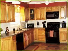 painted kitchen cabinets with black appliances. Painting Kitchen Cabinets Black Appliances Elegant What Color To Paint With Painted N