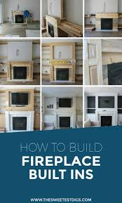 want to build some diy fireplace built ins in your living room building these cabinets