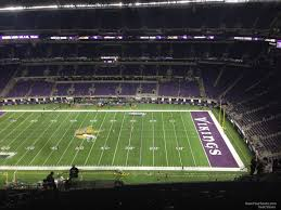 U S Bank Stadium Section 311 Minnesota Vikings