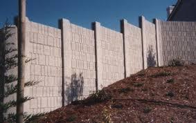 Small Picture Bay Area Precast Concrete Walls Concrete Fences