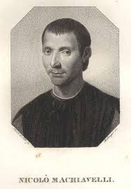 Niccolò Machiavelli, eigentlich Niccolò di Bernardo dei Machiavelli  (Florenz 03. 05. 1469 - 21. 06. 1527 Florenz). Ital. Politiker, Diplomat,  Philosoph, Geschichtsschreiber und Dichter. Brustbild,. von MACHIAVELLI,  Niccolo (1569-1527) Politiker ...