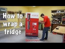 Vending Machine Wraps Extraordinary Dr Pepper Vending Machine Mini Fridge Wrap YouTube
