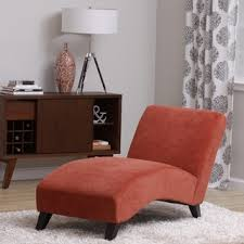 chaise chairs for living room. bella orange-paprika chaise lounge chairs for living room |