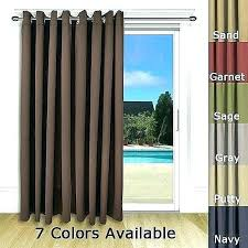 thermal ds target sliding door curtains target unique blackout for glass doors patio in kitchen
