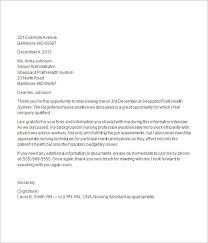 Social Media Information Llc Job Interview Thank You Email