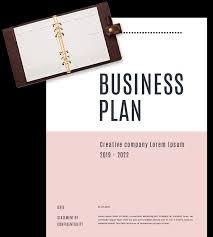 Business Plan Cover Page Business Plan Templates In Word For Free