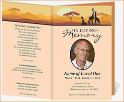 Funeral Card Templates Free Amazing Funeral Invitation Template Free Printable Invi On Funeral 12