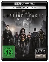 Zack Snyder's Justice League 4K Ultra HD Blu-ray