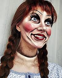 annabelle the doll makeup