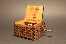 Engraved Wooden Music Box Game Of Thrones Engraved wooden music box Imagine John Lennon Invenio Crafts 8