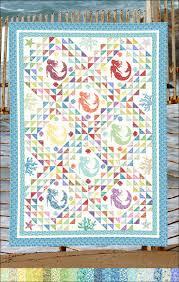Mermaid Quilt Pattern Custom Decorating Design