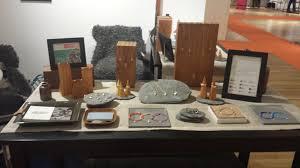 welsh slate displays jewelry