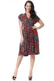 Plus Size Dress Patterns Impressive JHONPETER WOMEN'S MULTIWORN BOHEMIA DRESS LEOPARD PATTERN PLUS SIZE