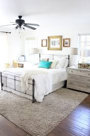 rug under bed. master bedroom refresh - the difference some white paint can make rug under bed g