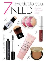 7 s you need in your makeup bag