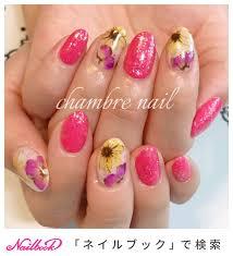 夏パーティーデート女子会ハンド Chambre Nailのネイルデザインno