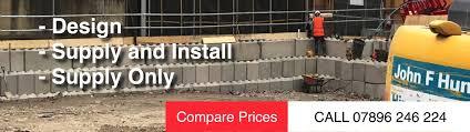 retaining wall design guide retaining