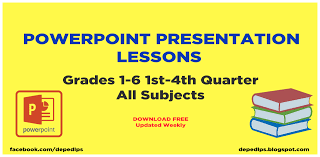 Powerpoint lessons for fist grade