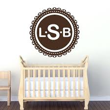 wall monograms monogram wall mural decal custom wood wall monograms wall monograms