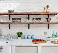 decorating kitchen shelves. decorating kitchen shelves farmhouse with wooden open shelving