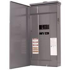 circuit breaker panel square d 200 amp 8 space 16 circuit outdoor main breaker